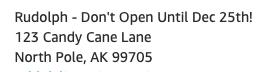 Dont Open Until