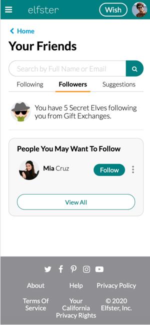 Followers-Secret Elves