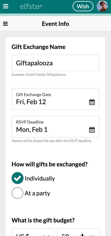 Mobile Event Info